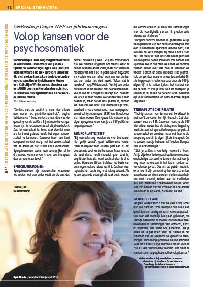 Volop kansen in de Psychosomatiek