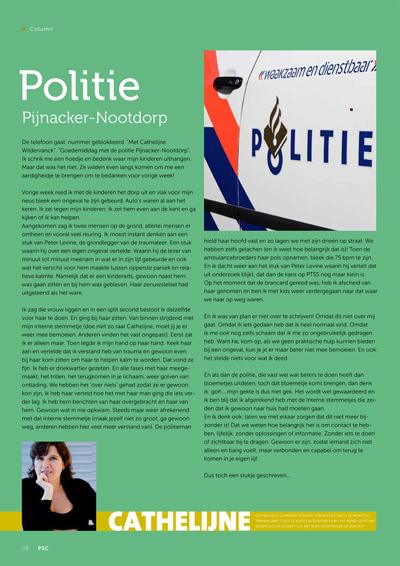Politie Pijnacker-Nootdorp column