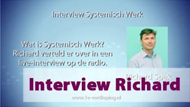 Interview Systemisch werk met Richard Spek