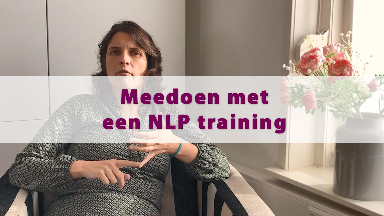 Meedoen met een NLP training
