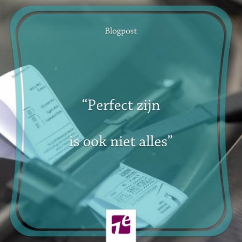 Perfect zijn is ook niet alles