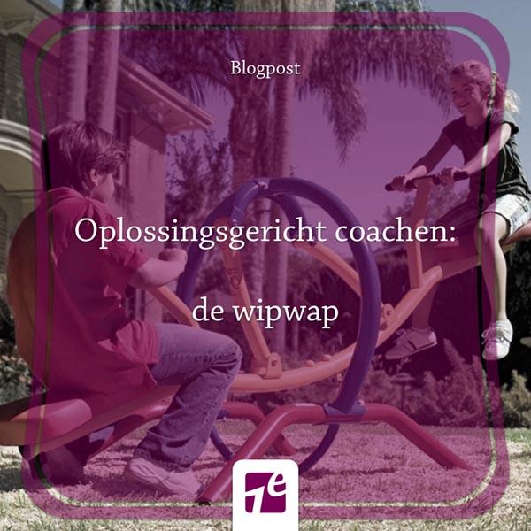 Oplossingsgericht coachen: de wipwap