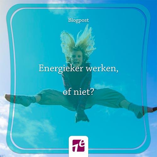Blog Nathalie – Energieker werken