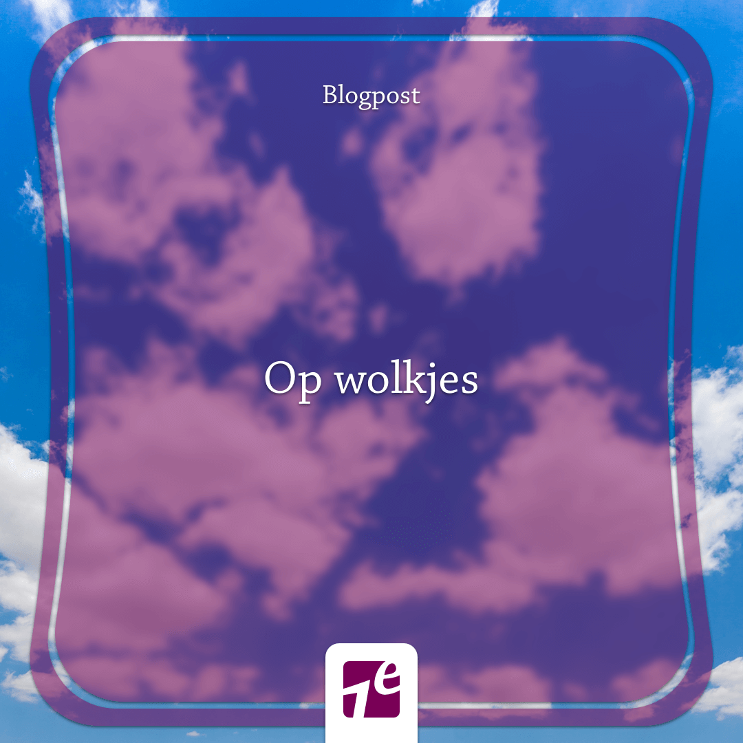 Op wolkjes – Blog Cathelijne Wildervanck