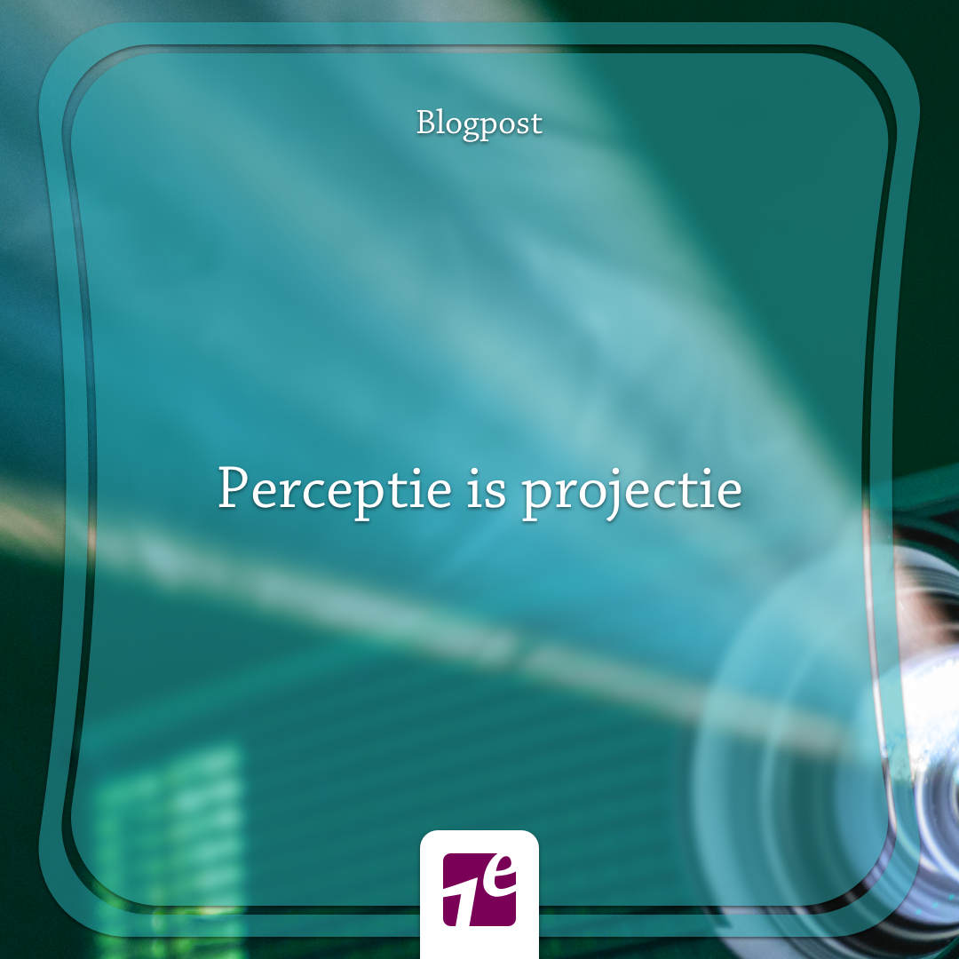 Perceptie is Projectie