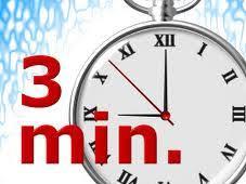 De Drie-Minuten-Regel