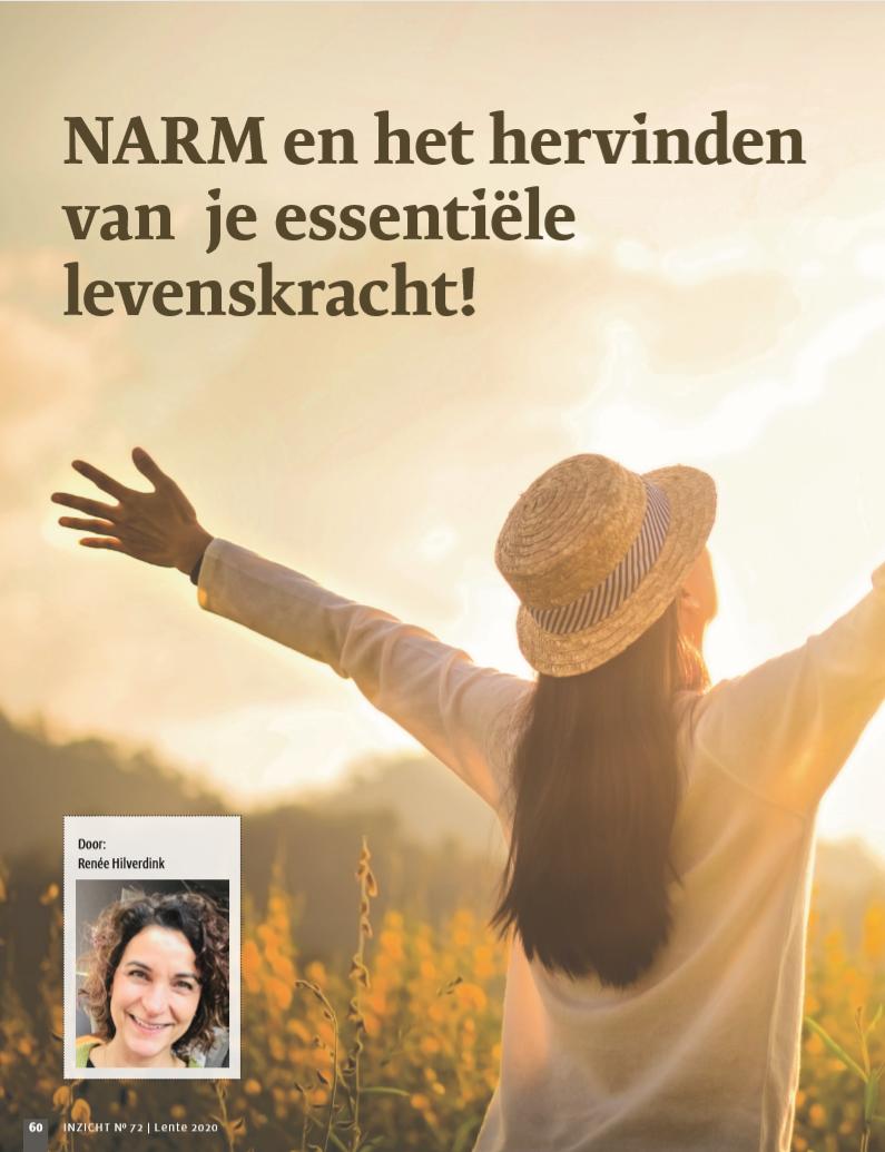 NARM en het hervinden van je essentiële levenskracht!